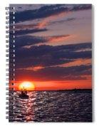 Gulf Coast Sunset Spiral Notebook