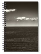 Gulf Of St Lawrence With Clouds Spiral Notebook