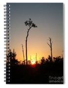 Gulf Shores Sunset Spiral Notebook