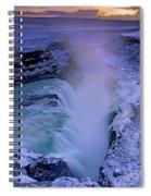 Gullfoss Spiral Notebook