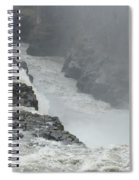 Gullfoss Waterfall Iceland Spiral Notebook