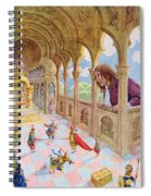 Gulliver At Lilliput Spiral Notebook