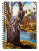 Gum Trees Of The Snowy River Spiral Notebook