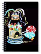 Gumball Machine And The Lollipops Spiral Notebook