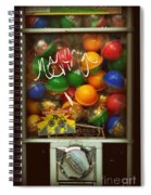 Series - Gumball Silver Bars With Graffiti - Iconic New York City Spiral Notebook