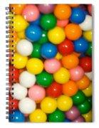 Gumballs Spiral Notebook
