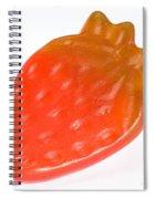 Gummy Strawberry Spiral Notebook