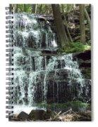 Gun Brook Falls Spiral Notebook