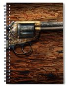Gun - Police - True Grit Spiral Notebook