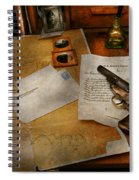 Gun - The Adventure Of Military Life  Spiral Notebook