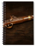 Gun - Us Pistol Model 1842 Spiral Notebook