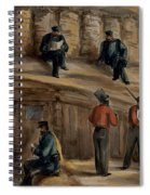 Gunners Of The Royal Regiment Spiral Notebook