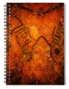 Guns A Blazing Spiral Notebook