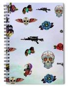 Guns And Roses  Spiral Notebook