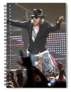 Guns N' Roses Spiral Notebook