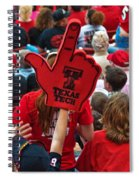 Guns-up Salute Spiral Notebook
