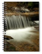 Gurgling Over A Small Log Spiral Notebook