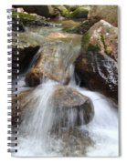 Gushing Water Spiral Notebook