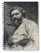 Gustave Courbet Spiral Notebook