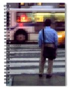 Crossing The Street - Traffic Spiral Notebook