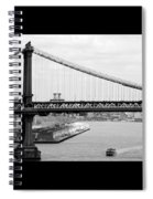 Manhattan Bridge Span Spiral Notebook
