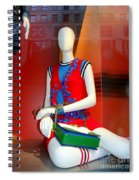 Gym Socks And Jewels Spiral Notebook