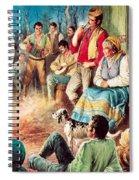Gypsies Partying Spiral Notebook