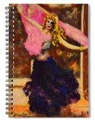 Gypsy Dancer Spiral Notebook