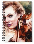 Gypsy In My Soul Spiral Notebook