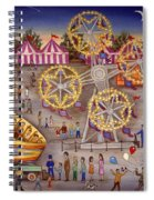 Gyro At The Carnival Spiral Notebook