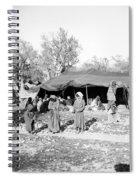 Gyspy Encampment, C1900 Spiral Notebook