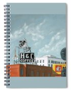 H And C Coffee Spiral Notebook