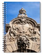 Habsburg Gate Details In Budapest Spiral Notebook