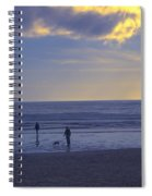 Haceta Head Beach 2 Spiral Notebook