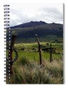 Hacienda El Porvenir Ranch View Spiral Notebook