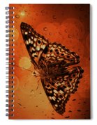 Hackberry Emperor - Asterocampa Celtis Spiral Notebook