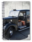Hackney Carriage Austin Fx3 Of London C. 1955 Spiral Notebook