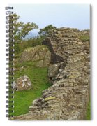 Hadrian's Wall Near Walltown Quarry Spiral Notebook