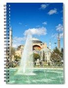 Haghia Sophia Fountain 02 Spiral Notebook