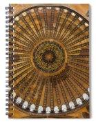 Hagia Sofia Ceiling Spiral Notebook