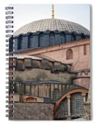 Hagia Sofia Close Up Spiral Notebook