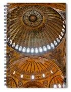 Hagia Sofia Interior 02 Spiral Notebook