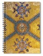 Hagia Sofia Interior 03 Spiral Notebook