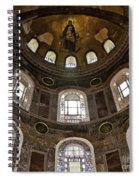 Hagia Sofia Interior 06 Spiral Notebook