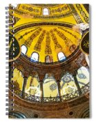 Hagia Sofia Interior 07 Spiral Notebook
