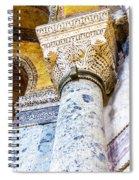 Hagia Sofia Interior 09 Spiral Notebook
