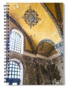 Hagia Sofia Interior 14 Spiral Notebook