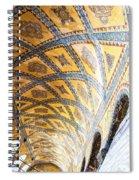 Hagia Sofia Interior 16 Spiral Notebook