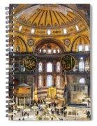Hagia Sofia Interior 35 Spiral Notebook
