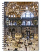 Hagia Sofia Interior 42 Spiral Notebook